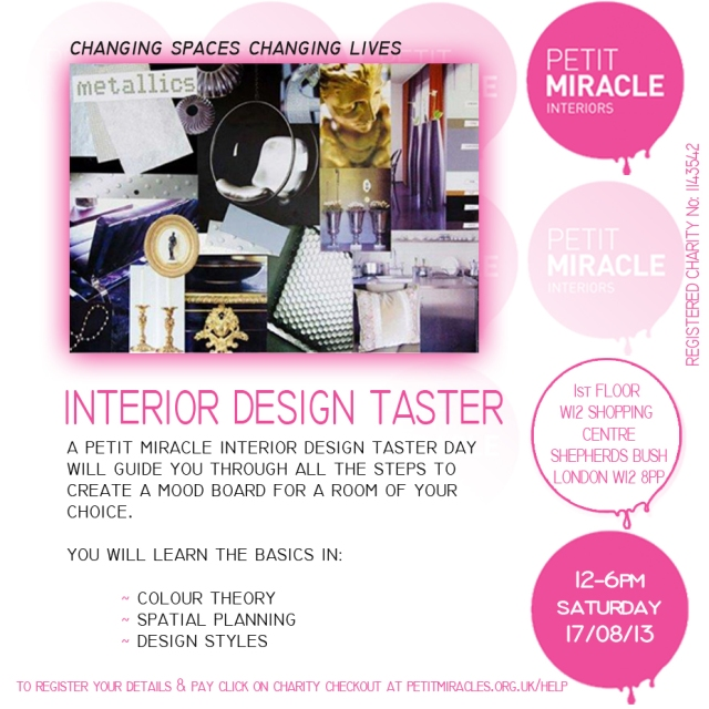 Interior Design Workshop August